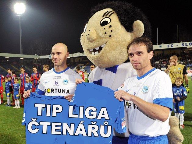 Jan Nezmar a Tomáš Janů - legendy Slovanu