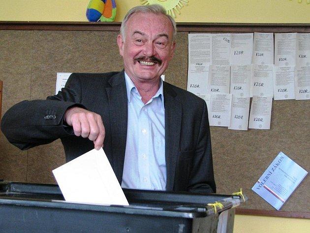 Předseda Senátu Parlamentu České republiky Přemysl Sobotka.