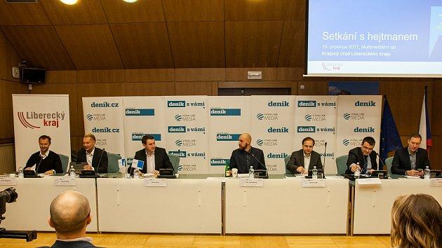 Setkání s hejtmanem Libereckého kraje 2017
