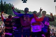 Finále závodu světové série horských kol ve fourcrossu JBC 4X Revelations proběhlo 14. července v bike parku Dobrý Voda v Jablonci nad Nisou.