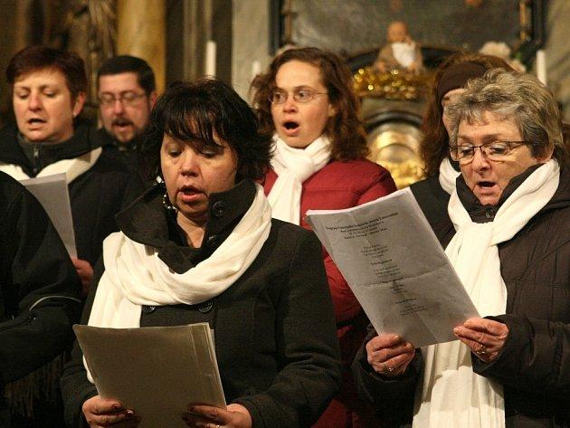 Vánoční koncert v Dlouhém Mostě