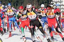 Ilustrační fotografie Biatlon - Mistrovství Evropy v Novém Městě na Moravě závod mužů 24.2 2008