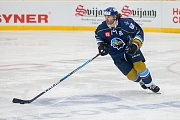 Utkání 46. kola WSM ligy ledního hokeje se odehrálo 3. února v liberecké Home Credit areně. Utkaly se celky HC Benátky nad Jizerou a Rytíři Kladno. Na snímku je Jaromír Jágr.