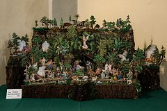Výstava betlémů v kostele sv. Jana Křtitele v Liberci na snímku z 15. prosince.