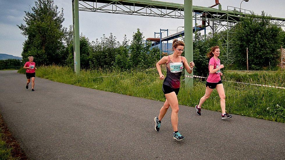 Olympijský běh na libereckém stadionu