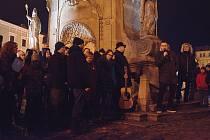 V neděli se v Jindřichově Hradci slavilo 30. výročí Sametové revoluce.