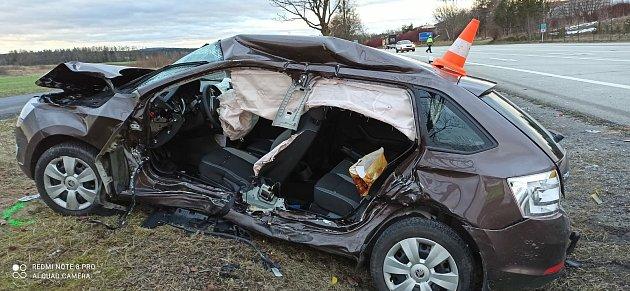 Tragická nehoda vJindřichově Hradci na křižovatce pod Penny.