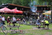 Na 8. ročník Třeboňské šlapky vyrazilo rekordních 219 cyklistů.