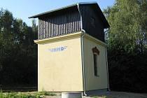 Nový vodojem nahradil cisternu, která na kolejích často překážela.