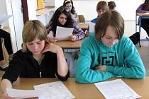 Testy volby povolání v 6. Základní škole v Jindřichově Hradci.