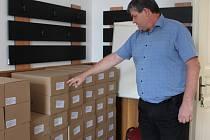 V jindřichohradeckém městském úřadu již mají připravené volební obálky a tiskopisy.