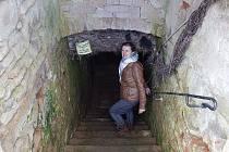 Jaroslava Sedláková se zapojila do obnovy strmilovského podzemí.