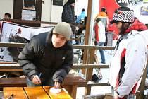 Lyžařské závody pro děti Čihadlomania 2009.