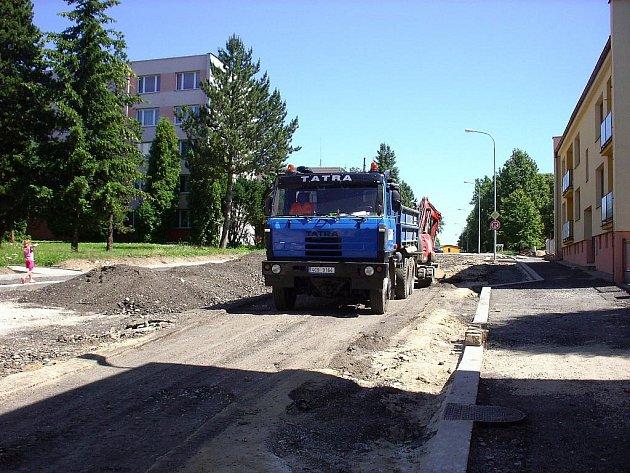 Rekonstrukce Třebického ulice.
