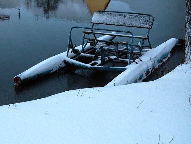 První letošní sněhová nadílka je opravdu vydatná