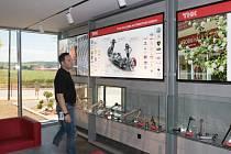 Slavnostní otevření nového vstupního prostoru se v THK Dačice uskutečnilo v pátek 24. května.