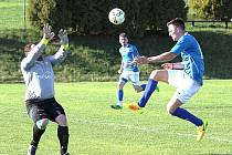 Fotbalisté Buku zvítězili v 18. kole okresního přeboru na číměřském trávníku 2:0.