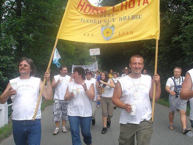 29. Srazu Lhot a Lehot se zúčastnilo na 900 lidí z 62 obcí. Mezi účastníky byli i občané z Horní lhoty na Jindřichohradecku.