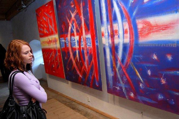 Vernisáž výstavy Tomáše Švédy