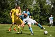 Jindřichohradečtí fotbalisté doma podlehli Mariánským Lázním 2:4.