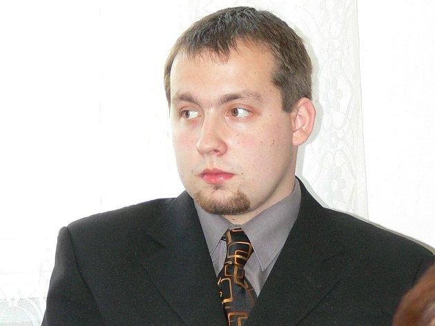 Martin Knobloch, předseda florbalového Slovanu J. Hradec.