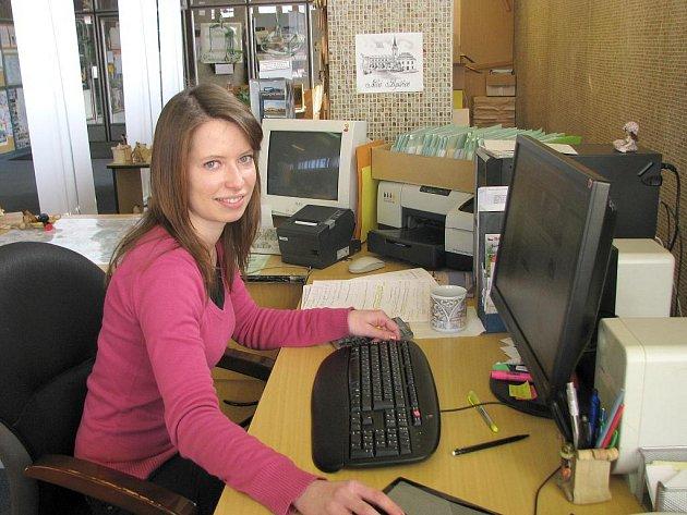 Novou pracovnicí Turistického informačního střediska v Nové bystřici je Petra Vacková.