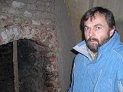 Loučící se třeboňský kastelán Pavel Hofman.