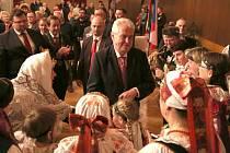 Na Miloše Zemana v Jindřichově Hradci čekala zcela zaplněná Střelnice.