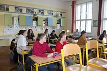 Přijímačky nanečisto měly v letošním roce na Gymnáziu Vítězslava Nováka premiéru.