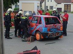 Oslavy 90. let založení Sboru dobrovolných hasičů v Malém Pěčíně.