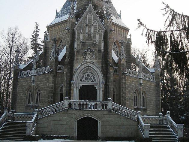 Schwarzenberská hrobka.