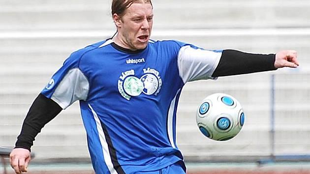 Ondřej procházka se po zranění vrátil do sestavy divizních fotbalistů Třeboně.