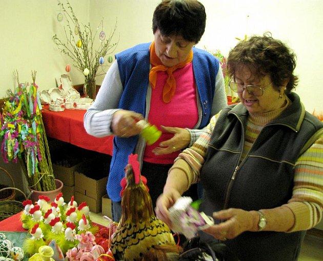 Velikonoční prodejní výstava na Baráčnické rychtě.