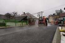 Opravovaný most na silnici I/23 v Nové Olešné u Jindřichova Hradce bude od 30. 11. 2020 opět zprůjezdněn bez větších omezení v režimu předčasného užívání. Snímky byly pořízeny v říjnu a v listopadu.