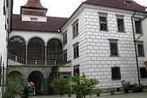 Třeboňský zámek.