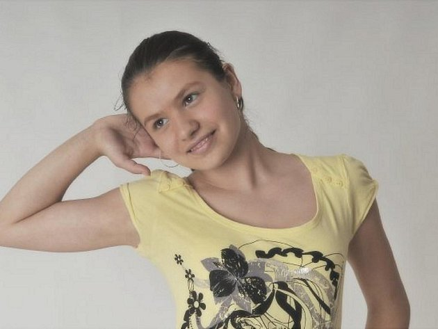 GYMNASTKA. Leona Jírová.