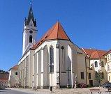 Kostel svatého Jiljí v Třeboni.