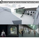 Vizualizace rekonstrukce MěKS Dačice.