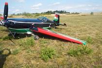 Letadlo dosedlo na zem a pilot nebyl nijak zraněn.