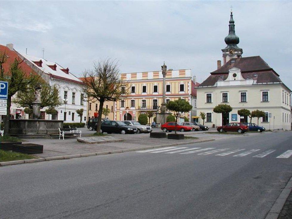 Nová Bystřice.