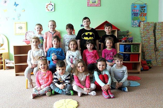 """3. mateřská škola """"UBilly"""" na sídlišti Vajgar vJindřichově Hradci – třída Kytička."""