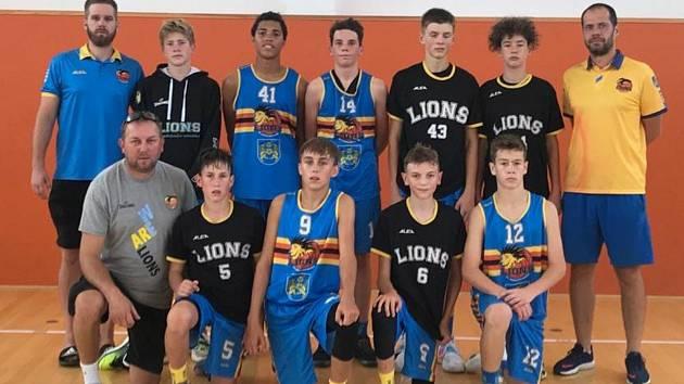 BK Lions Jindřichův Hradec, účastník žákovské ligy U15.