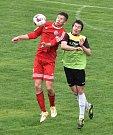 Fotbalisté Třeboně prohráli v dohrávce krajského přeboru na půdě Oseku 0:1.