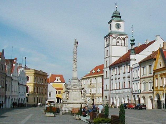 Ilustrační foto: Masarykovo náměstí v Třeboni