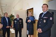 Po třech letech převedlo město místnost do majetku policie.