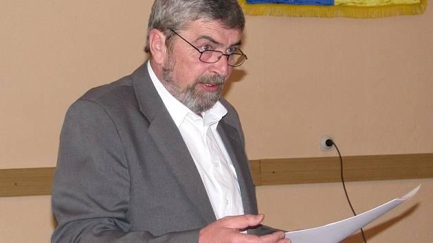 Starosta Lodhéřova Jiří Dvořák patří k neúnavným bojovníkům proti úložisti jaderného odpadu.