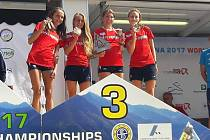 Na Mistrovství světa v běhu do vrchu v italské Premaně české družstvo žen s Pavlou Schornou ze Starého Města pod Landštejnem vybojovalo bronz.