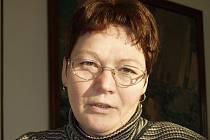 Odcházející starostka Deštné Vilma Szutová.