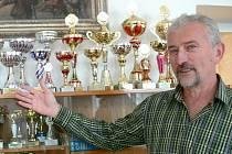 Jaromír Sváček, ředitel 2. základní školy v Jindřichově Hradci.
