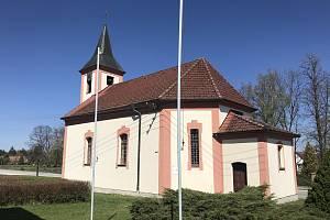 Kaple sv. Jana Křtitele v Cepu.